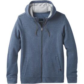 Prana Asbury Full Zip Hood Herr equinox blue heather